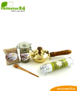 "5-part ""HOUSE CLEANSING"" incense set with high-quality incense blend"
