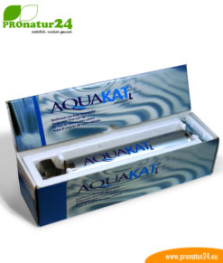 Penergetic AQUAKAT L water vitalization and limescale remover (decalcification*)
