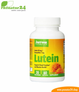 Lutein 20 mg with zeaxanthin 60 softgel capsules!