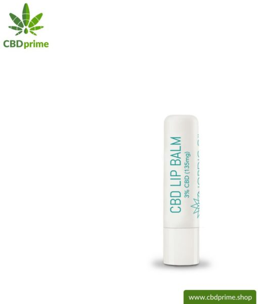 CBD LIP BALM with 3%. Nourishing lipstick or lip balm for brittle, chapped lips with the power of the cannabis plant. Without THC.