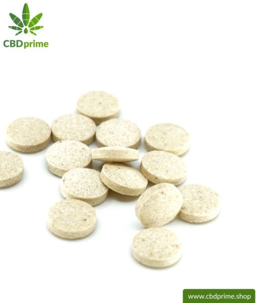 CBD TREATS for CATS and KITTENS. Feed supplement in the form of tablets for the cat. 130 mg of CBD in 100 lozenges. Without THC.