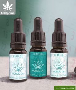 Hemp oil with CBD in subscription