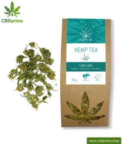CBG hemp tea, 30 grams with 1.8 % cannabigerol share